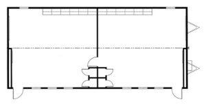 fp 28x60 modular classroom