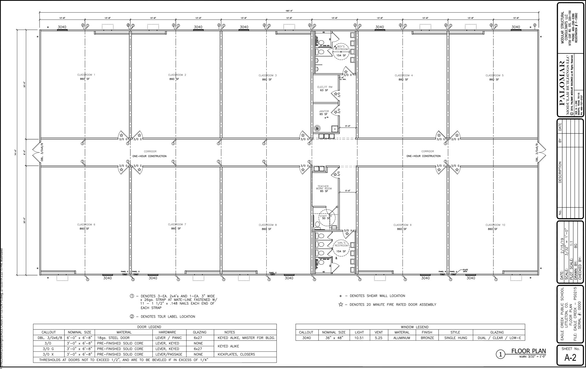 A 2 floor plan Eagle Creek Littleton 2 15 19 1